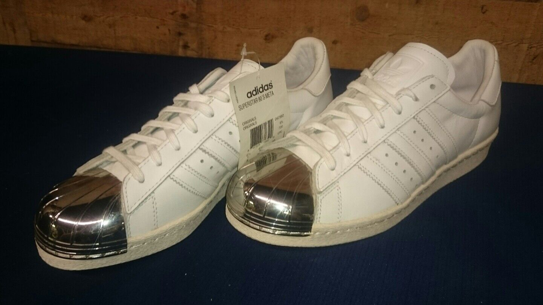 Adidas nueva superestrella 80 hombres meta d67592 zapatos de los hombres 80 cómodos e68699