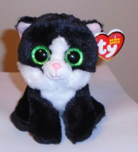 fcc0aef9957 Ty Beanie Baby - AVA the Black and White Cat (6 Inch) NEW MWMT ...