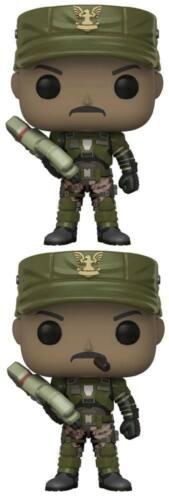 différents au choix Halo Pop Games Vinyle personnages Sergent Johnson 9 cm