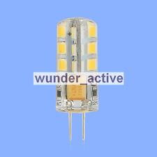 G4 24 SMD 2835 LED Lampe Birne Licht  Warmweiss 1.9W 110-130Lm AC 12V/DC 10-16V
