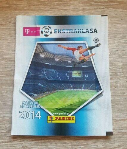 PANINI 1 Sac Ekstraklasa 2014 Bustina Pochette sobre Pack Pologne Poland 14
