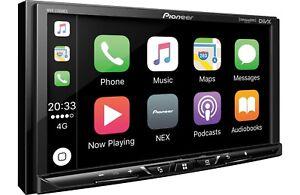 "Pioneer MVH-2300NEX RB 2 DIN Digital Media Player 7"" Bluetooth CarPlay Android"