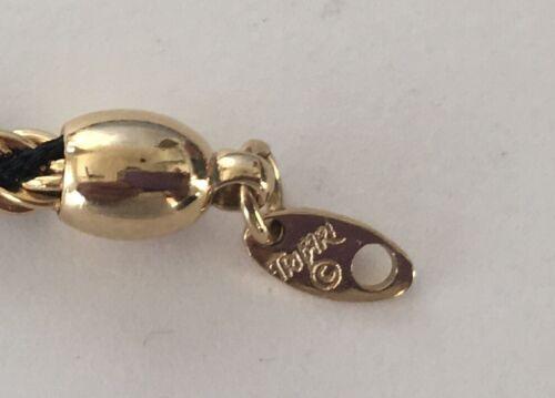 Vintage 1950-80/'s Signed CROWN TRIFARI Gold//Silver Tone Lucite Necklaces