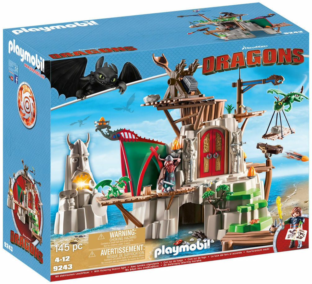 Playmobil Dragons 9243 Insel Mema