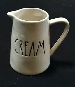 "Rae Dunn Creamer ""CREAM"" Pitcher by Magenta - Artisan Collection"