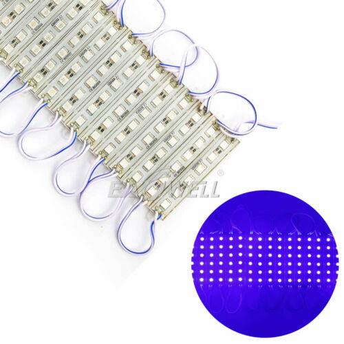 10~100FT Super bright IP65 Waterproof 5054 SMD 6LED Module Light Lamp DC 12V USA