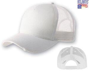 ATLANTIS Cappellino RAPPER DESTROYED Cappello TRUCKER cappello MESH ... f390988d8d91