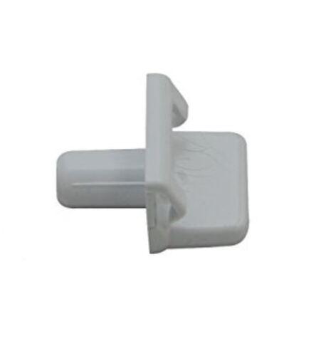 De Deitrich Replacement Refrigerator Fridge Freezer Shelf Support Clip White
