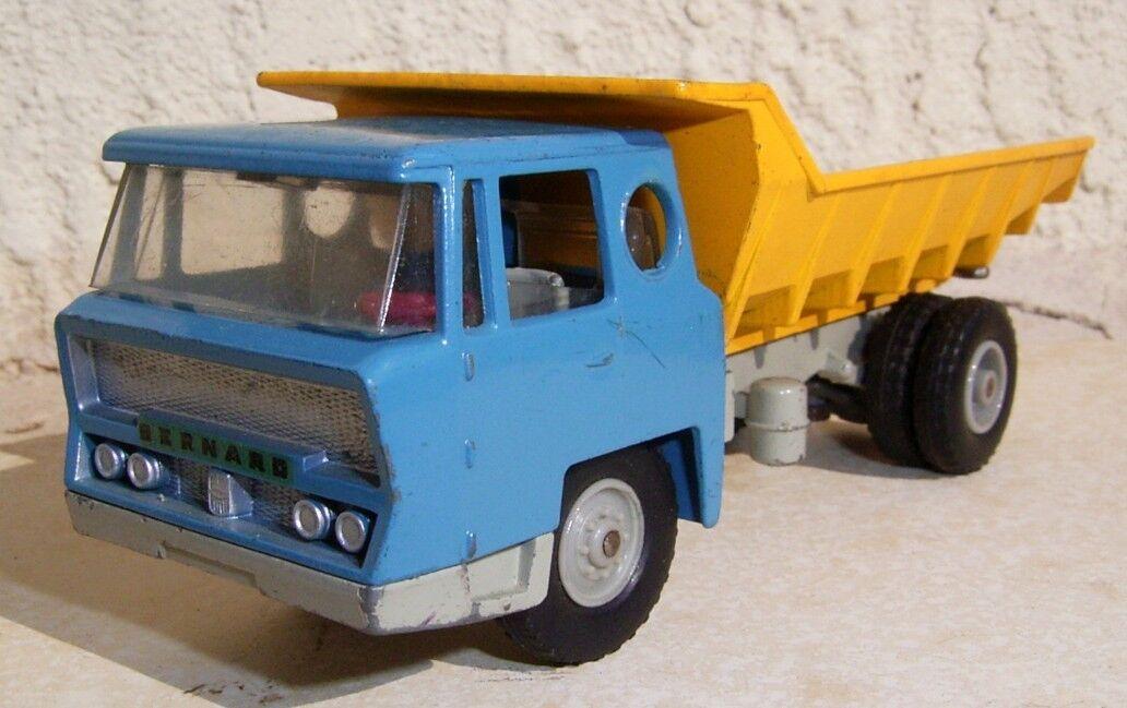 Camion BERNARD SOLIDO   1.43e métal  fabrication années 60  loisir