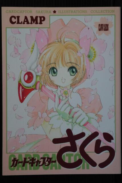 JAPAN Book: Clamp Card Captor Sakura Illustrations Collection 1 OOP