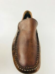 57e5173f6573 Brown s Italian Men s Loafers Shoes Brown Size US.9 UK.8.5 EU.42