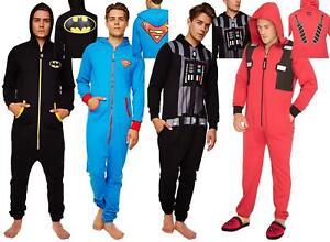 Homme-Deadpool-Superman-Darth-Vader-a-Capuche-Combinaison-Fermeture-Eclair-Tout-En-Un-1-Grenouillere