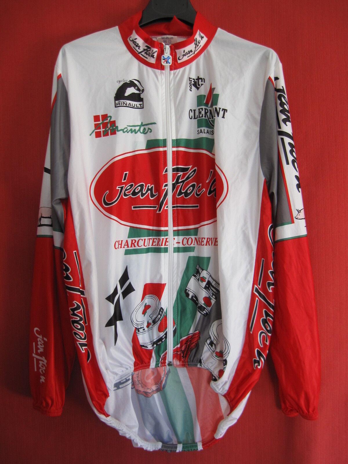 Maillot cycliste Coupe Vent Equipe pro Jean Floc'h Mantes Bernard Hinault 2   S