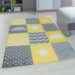 Kids Bedroom Floor Rug Boys Soft Play Mats Carpets Non Slip Nursery