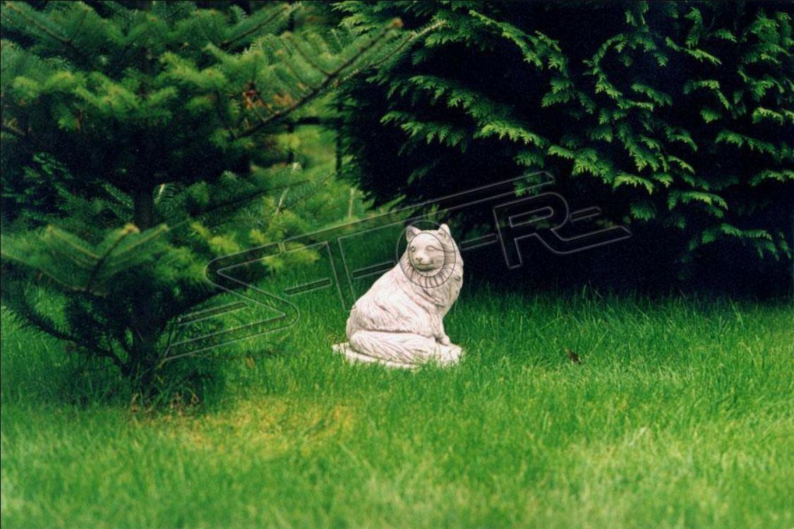 Jardín decoración gato estatua escultura figuras esculturas Design personaje estatuas