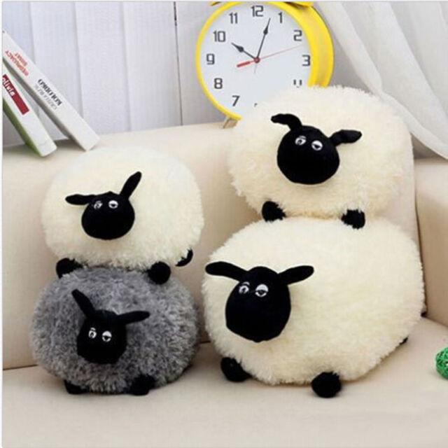 Lovely Soft Stuffed Sheep Plush Pillow Sofa Home Cushion Kid Baby Toy Gift KKK