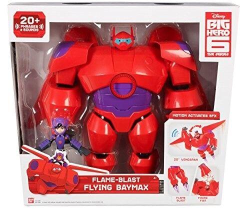 20 10-inch Figure Baymax Phrases Big Hero 6 41306 Flame Blast Flying Baymax