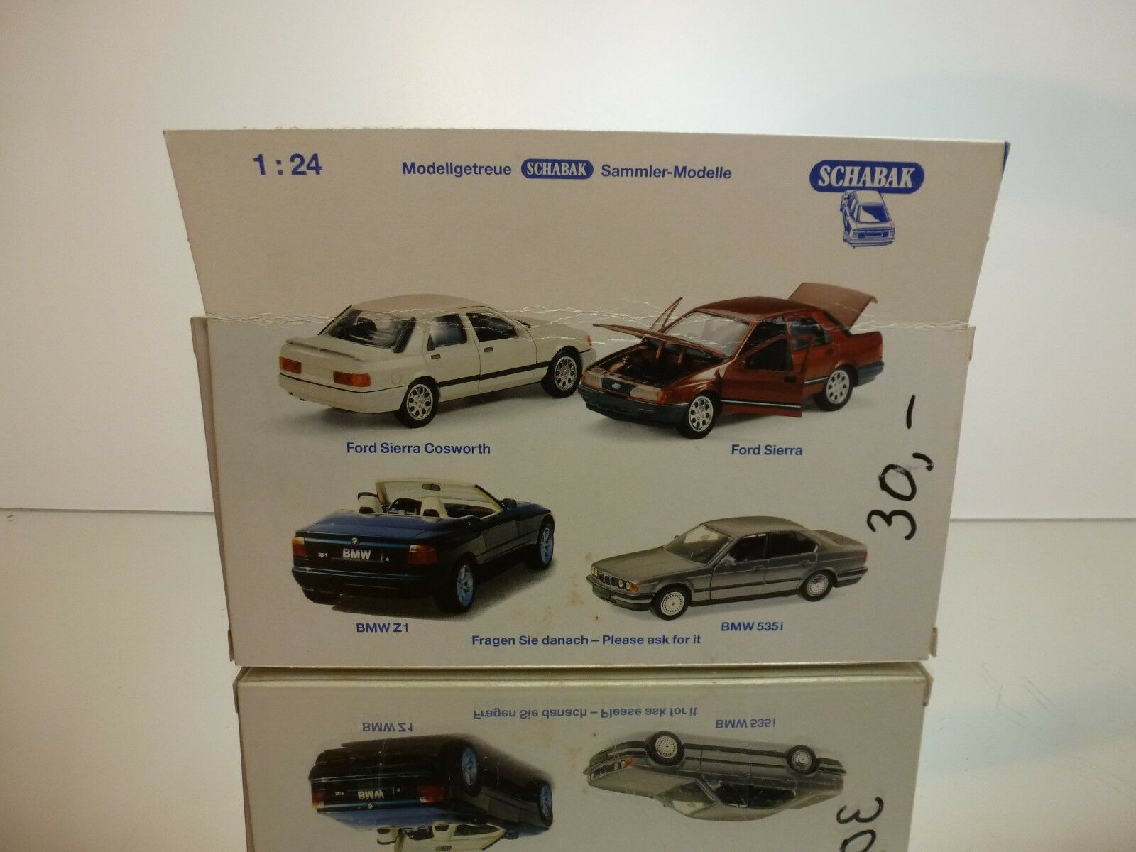 SCHABAK 1600 BMW Z1 METALLIC 1 24 24 24 - GOOD CONDITION IN BOX 0fbeec