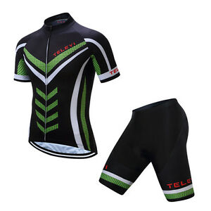 TELEYI-Men-Cycling-Jersey-and-Bib-Shorts-Suit-Road-Bike-Maillot-Clothing-Sets