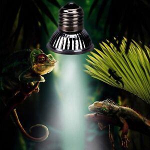 Details About 110v Reptile Basking Spot Light Bulb Amphibian Vivarium Uva Uvb Heat Emitter Ff