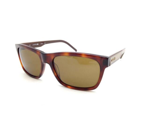 4cd2008ab81 Lacoste Sunglasses L703s 218 Blonde Havana Brown for sale online