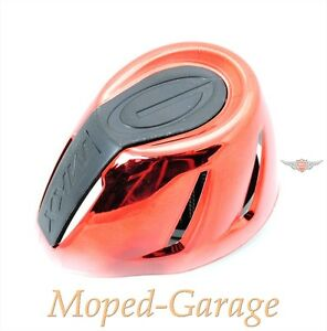 PUCH-velomoteur-cyclomoteur-mokick-Scooter-de-course-sport-filtre-a-air-rouge