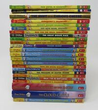 GERONIMO STILTON & THEA Books Lot 23 All High #s 3 HB Cave Mice 3 HB