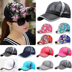46056ba3629 Image is loading Women-Men-Summer-Golf-Baseball-Cap-Outdoor-Sport-