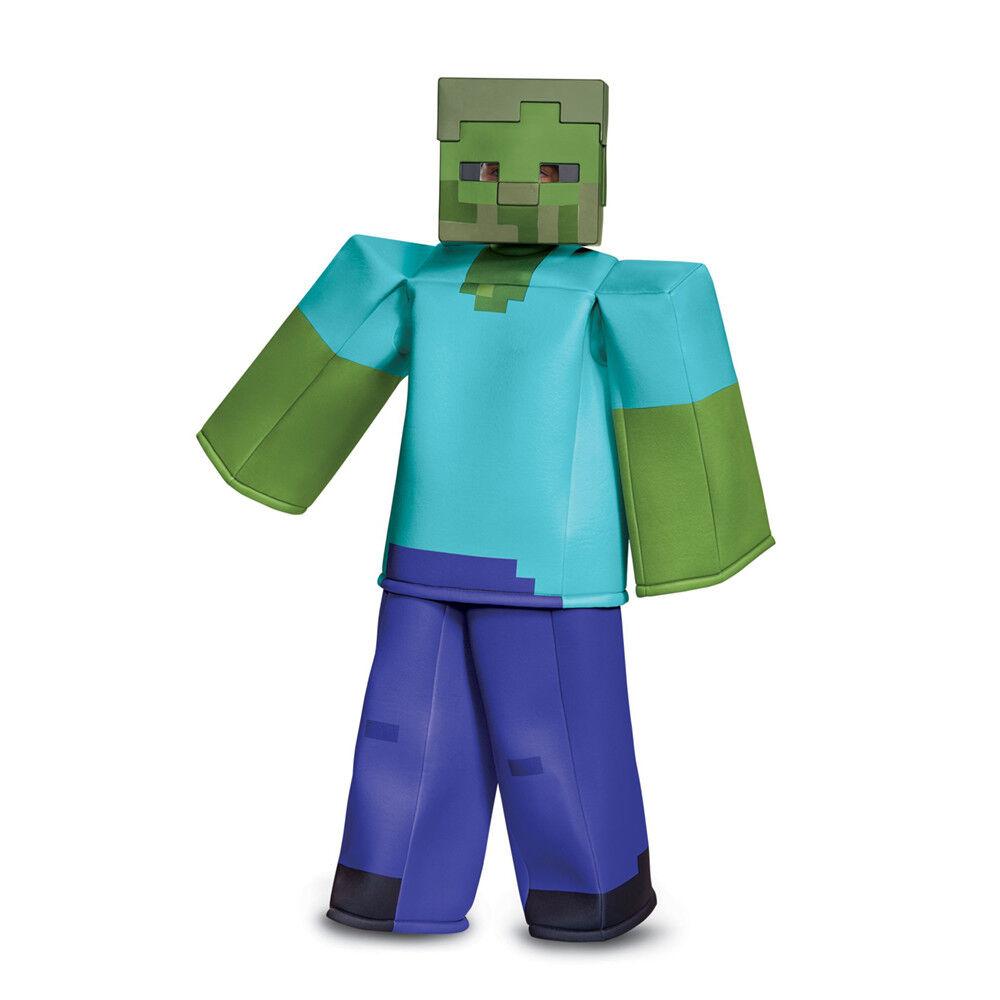 Boys Minecraft Zombie Prestige Halloween Costume