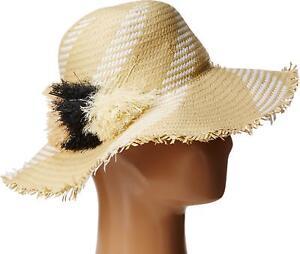 d73a1e6e136 New BCBGMAXAZRIA Women s Pom Pom Floppy Hat  58 Retail 888472191781 ...