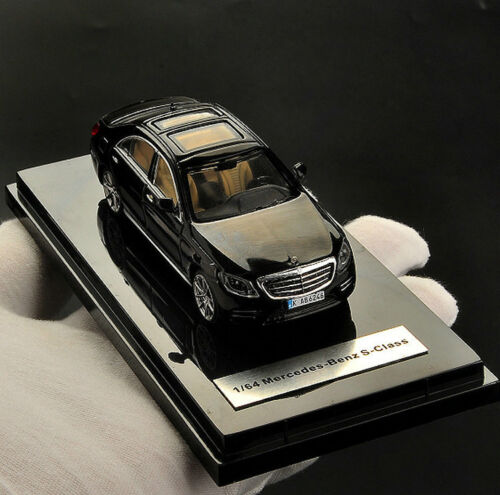 1:64 Scale Alloy Die Casting Static Display Mercedes S-class Car Model Toy Gifts