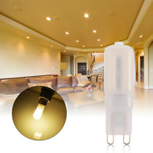 10pcs g9 8w led dimmable kapsel birne ersetzen halogen helles warmes wei ld1076 ebay. Black Bedroom Furniture Sets. Home Design Ideas