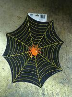 12x14 Spiderweb And Spider Halloween Cardstock Wall Window Decoration Decor