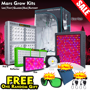 Mars Hydro 300w 1600w Full Spectrum Led Grow Lights Grow