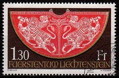 Streng Liechtenstein Minr 634 O Reichskleinodien Aus Der Schatzkammer Briefmarken Liechtenstein