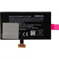 ORIGINAL NOKIA BV-5XW BV5XW AKKU ACCU BATTERY --- Lumia 1020 --- 2000mAh --- NEU