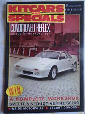 Kitcars & Specials Nov 1987 Jaguar SS100, Reflex