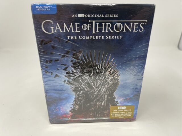 Game of Thrones The Complete Series Blu-Ray+Digital Brand New Factory Sealed