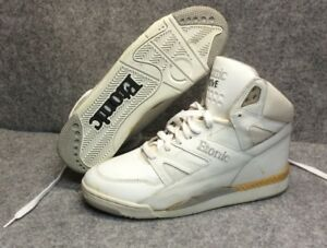 cf0082c9474f Vtg Etonic DRIVE Basketball Shoes All White Blemish Mens Sz 8.5 READ ...
