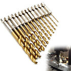 13Pcs/lot Drill Bit Set High Speed Steel Twist Drill Bits Metal Drilling Tool