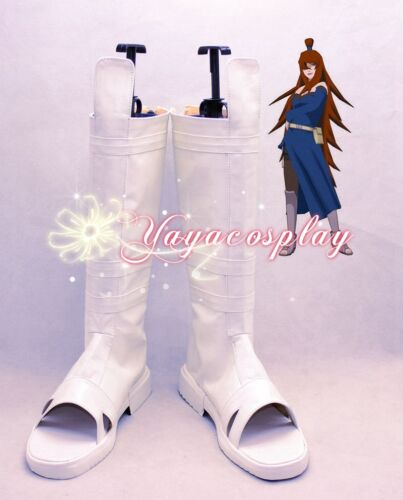 Naruto mizukage Terumi Mei cosplay shoes boots shoe boot hand made