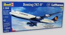 BOEING 747-8 LUFTHANSA AIRLINER - 1/144 Revell of Germany 172-Pc Kit #4275