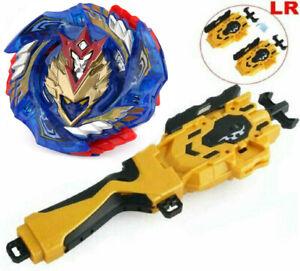 Burst-B-127-Beyblade-Cho-Z-CHO-Z-VALKYRIE-Z-Ev-Beyblade-Gold-Grip-Launcher