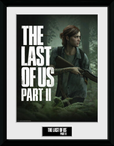 The Last of Us Part II Key Art Framed Photographic Print 30.5x41cm 16x12 inches