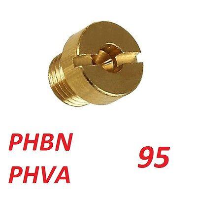 Gicleur principal de 95 pour carburateur Dellorto PHBN moto deux roues Neuf