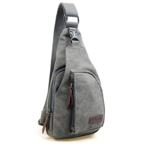 Herren Militär Brusttasche Umhängetasche Reise Schultertasche Sport Fahrrad Bags