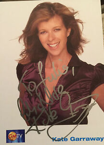 6x4-Hand-Signed-Photo-of-Kate-Garraway-GMTV-National-Lottery-Daybreak