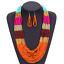 Fashion-Jewelry-Crystal-Choker-Chunky-Statement-Bib-Pendant-Women-Necklace-Chain miniature 110
