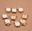 10pcs-3D-White-Enamel-Alarm-Clock-Charm-Pendant-15-10mm-Fit-DIY-Bracelet-Making thumbnail 3