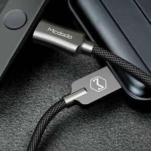 MCDODO-1-2m-2-4A-Cavo-caricamento-rapido-Wire-Cavo-Caricabatteria-Per-iPhone-XR-Xs-Max-X